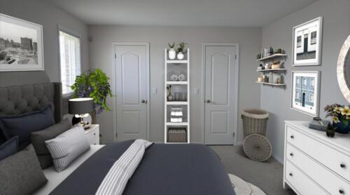 (After) Bedroom at Summer Lane