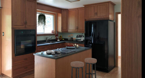 (After) Kitchen at Townline Rd