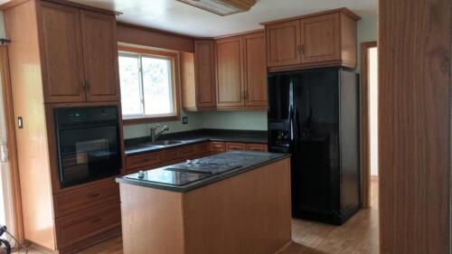 (Before) Kitchen at Townline Rd