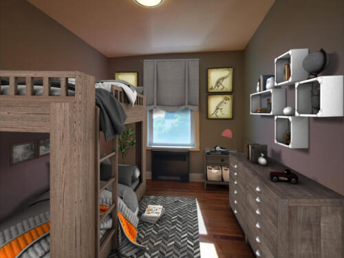 (After) Bedroom 2 for Client Doug