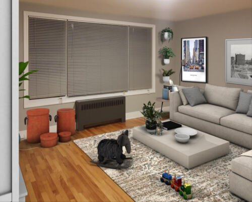 (After) Living Room for Client Doug