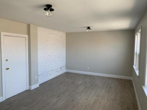 (Before) Living Space for Client Joy