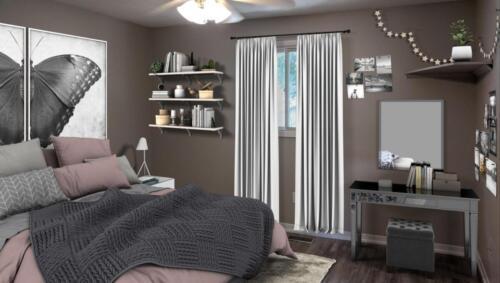 (After) Bedroom at Woodglade Blvd