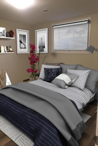 (After) Bedroom for Client Julie