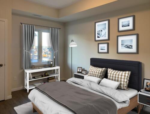 (After) Bedroom at 344 Florence Dr