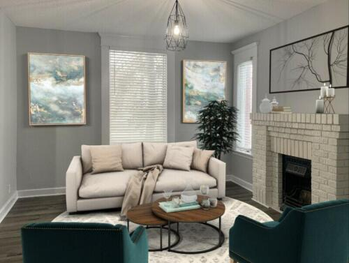 (After) Living Room for Client Adeel