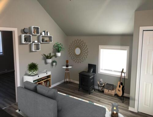 Living Room - Staged