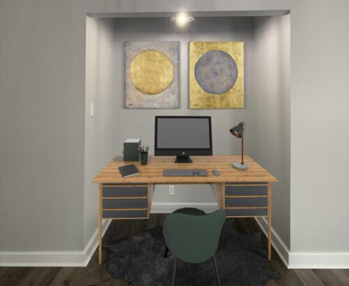 (After) Office Room for Client Adeel