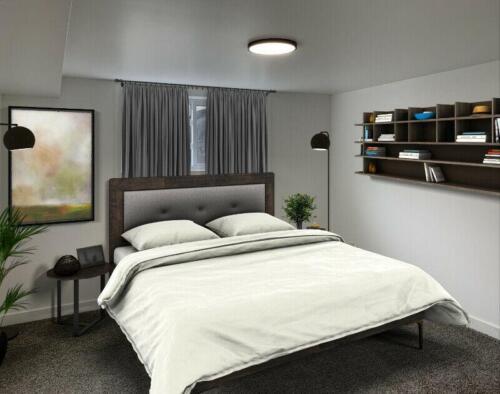 (After) Bedroom at 1443 Westbrook Dr